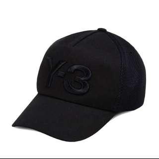 收購正品Y3全黑帽