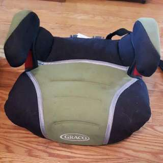 Green And Black Booster Seat