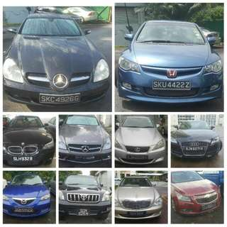 BUYING CARS FOR EXPORT OR SCRAP