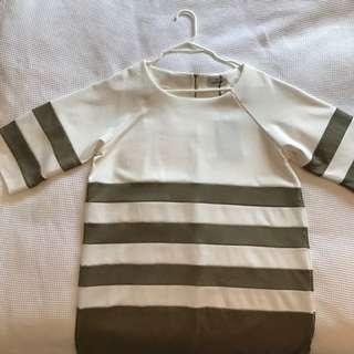 Stussy Khaki T-shirt Dress