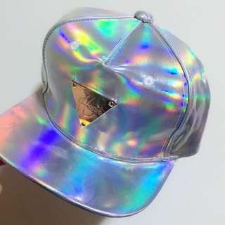 潮牌 Hater 素面 銀色 螢光 帽 棒球帽