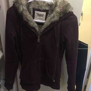 *Reserved* TNA fur coat
