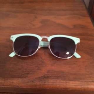 Aqua Cotton On Sunglasses