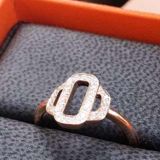 Hermes Diamond ring