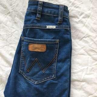 Wrangler Dark Blue Jeans