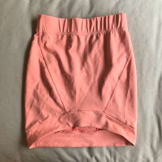 Bardot Fluro Pink Skirt