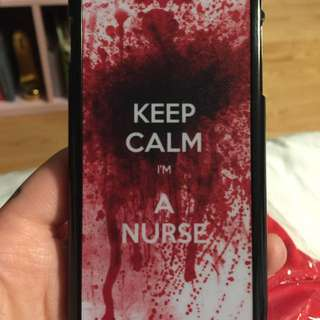 Keep Calm I'm A Nurse iPhone 6/6s Case