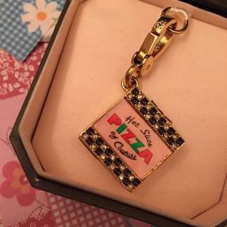 Juicy Couture Pizza Charm