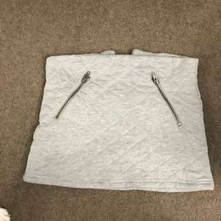 Grey Miniskirt