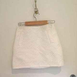 Textured Skirt Size 8