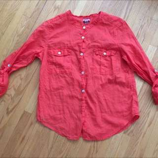 Roots Button Up