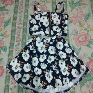 CropTop & Skirt