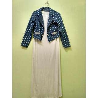 Dress Kemben Set Jacket