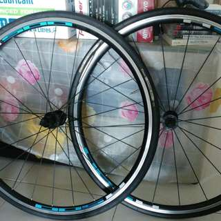 10sp Road Bike Wheelset With Tyre