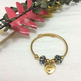 Pandora Inspired Charm Bangle