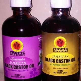 Jamaican Black Castor Oil(Lavender Scented) Sample Sizes