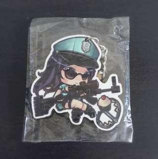 [BNIP] Officer Caitlyn Wooden Keychain