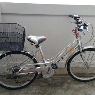 URATA bicycle For Ladies With Gear
