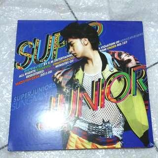 Super Junior - Sungmin Ver. (5th Album - Mr. Simple)