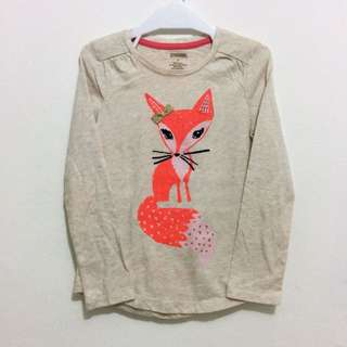 Gymboree Longsleeve Fox