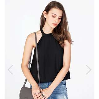 TCL Maralyn Top In Black Size L