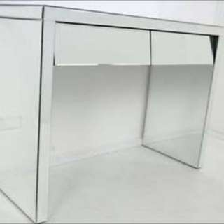 Mirrored Console Vanity Table