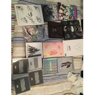 [KPOP ALBUM CLEAROUT]