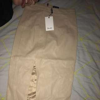 Khloe PU skirt Leather