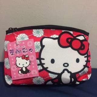 日本限定 Hello Kitty 化妝包
