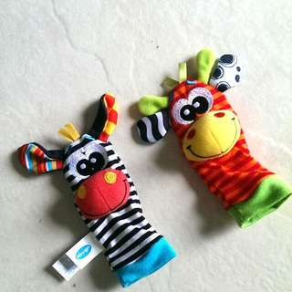 Playgro Rattle Socks