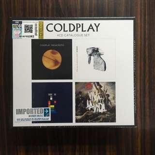 🆕CD Coldplay - 4 CD Catalogue Set