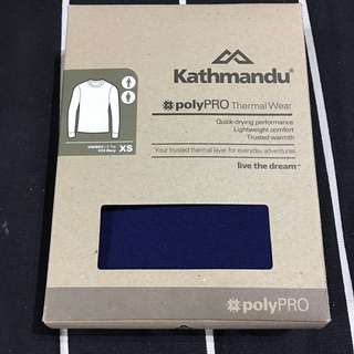 Authentic Kathmandu polyPRO Thermal Wear