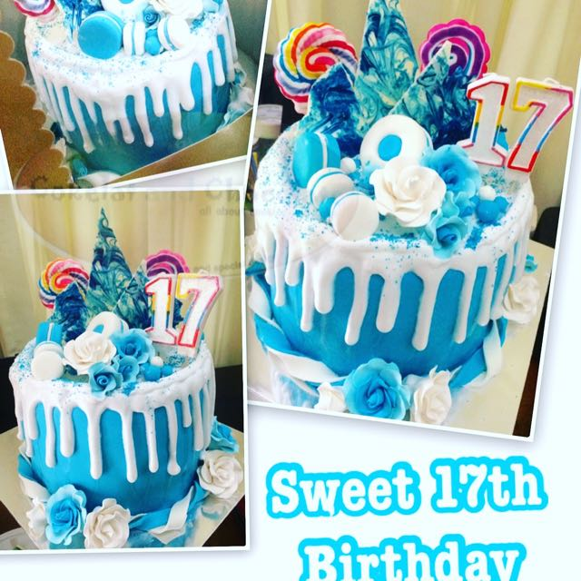 Incredible 17Th Birthday Cake Womens Fashion Womens Accessories On Carousell Personalised Birthday Cards Veneteletsinfo