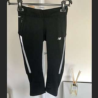 [NEW BALANCE] Black 3/4 Dry Fit Tights
