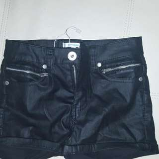 Valley Girl Pleather Shorts