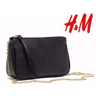 C - NEW ARRIVAL LIMITED READY STOCK ( INCLUDE POSTAGE ) H&M Zipper Sling Bag