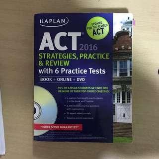 ACT STRATEGIES & Practice Test 2016