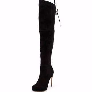 Siren Revolution suede, over the knee boots size 5