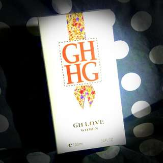 GH LOVE WOMEN PERFUMES (brand New) That Is Very Good For Girl Like Flower If You Have Any Question Wechat : JanHikari