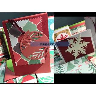 Handmade Christmas Cards Holidays Seasonal Congratulatory