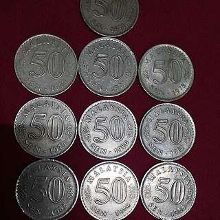 syiling 50 sen