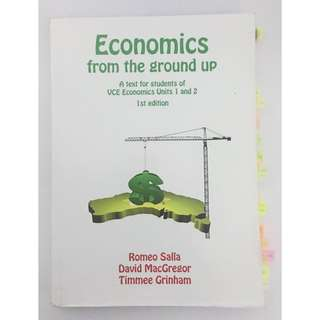 Economics from the ground up 1/2 Textbook