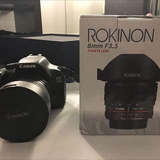 ROKINON FISHEYE LENS (for Canon)
