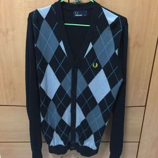 Authentic Fred Perry Cardigan