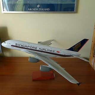 A380 Singapore Airlines Model Plane 1:100
