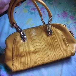 Yellow Hand/Shoulder Bag