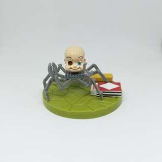 🚫Tomy Pixar 迪士尼 玩具總動員 第一代 嬰兒蜘蛛場景 阿薛 絕版 公仔 玩偶 盒玩