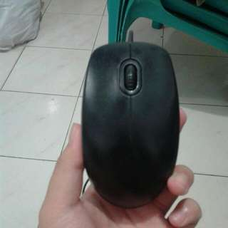 ( SALE ) MOUSE LOGITECH WIRED B100 BLACK