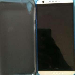 HTC desire 820 4G手機 藍白配色