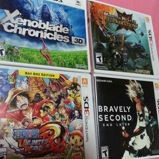 WTT/WTS 3DS Games